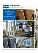 10. Specification Guide - Heritage 2800 decorative series windows & doors
