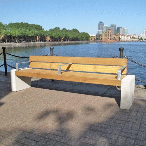 Elements Seat and Bench - Block Ends - Furnitubes International Ltd