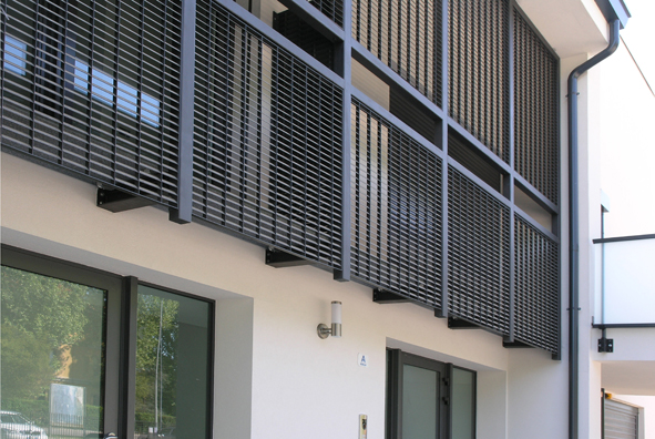 Lang fulton for Balcony louvres