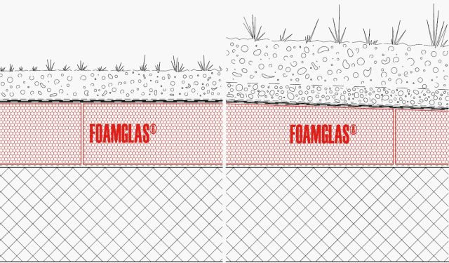 4.4.2 Roof: Flat or Tapered Insulation with Membranes and Green Planting