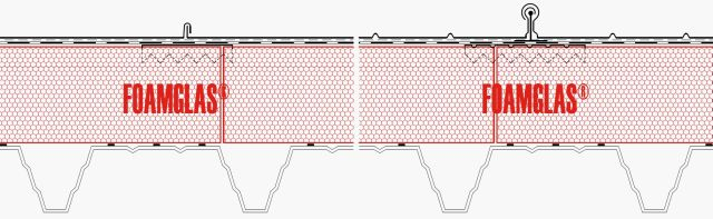 4.6.3 Roof - Insulation with thermally isolated Fixing Positions for Standing Seam Roof