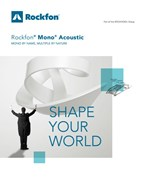 Rockfon Mono Acoustic - a seamless, Class A acoustic ceiling and wall system