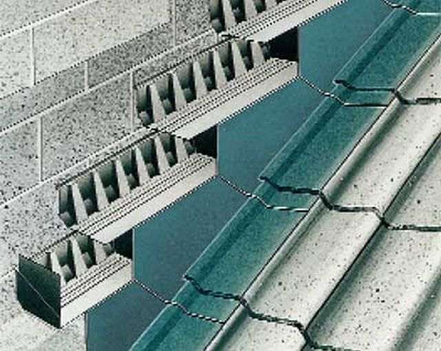 Everdry Stepped Cavity Tray For Blockwork 225 Mm Coursing