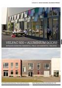 VELFAC 500 Aluminium Door System Product Catalogue