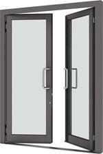 VELFAC 500 Aluminium Doors