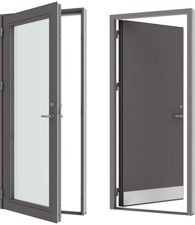 Velfac Ribo Wood Aluminium Doors Velfac Ltd