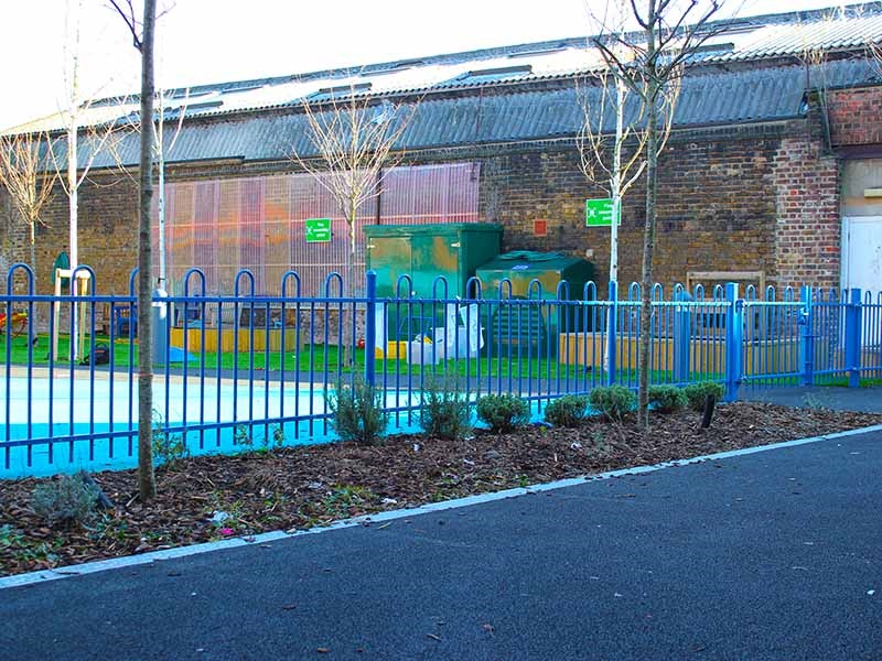 Anti Trap Bow Top provides safety and security for Keyworth Primary School