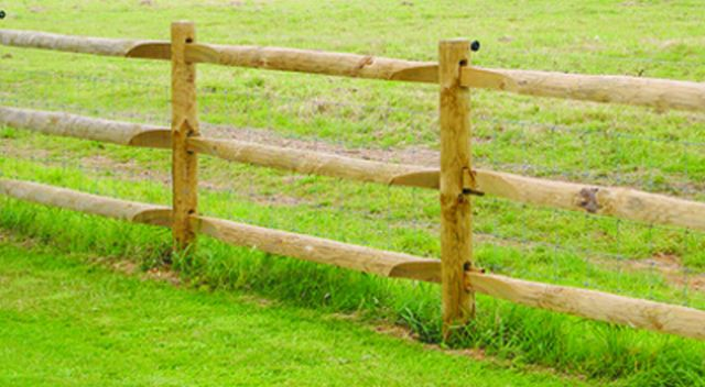 Special Post And Heavy Rail Jacksons Fencing