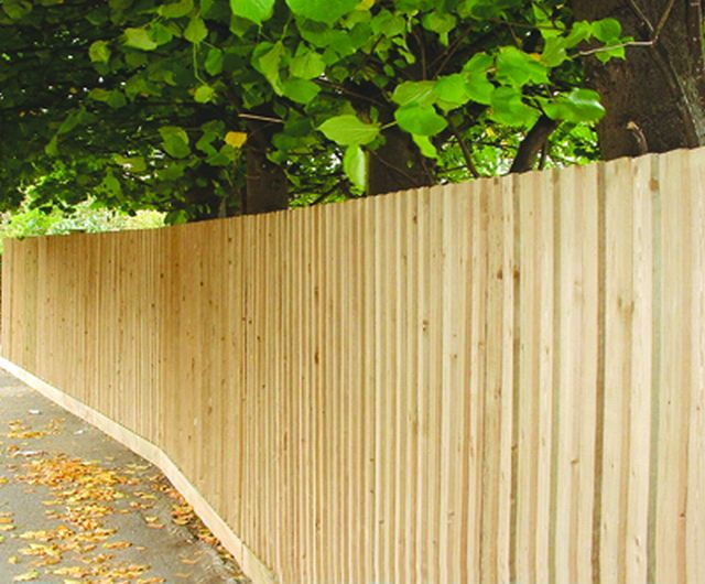 Traditional Featherboard Fencing Jacksons Fencing