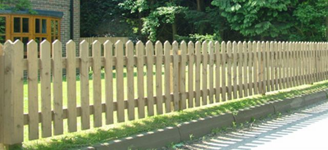 Traditional Palisade Fencing Jacksons Fencing