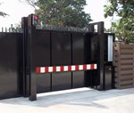 PAS 68 HVM Terra Sliding Cantilevered Gates - 7.5t At 50 mph