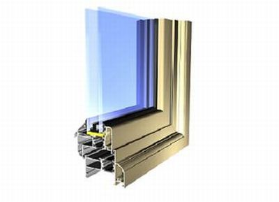 Alitherm Series 55 windows