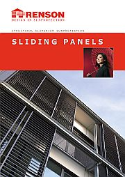 Sliding Panels Structural Aluminium Sunprotection