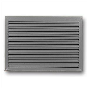 aluminium louvre grille 412 renson fabrications ltd. Black Bedroom Furniture Sets. Home Design Ideas