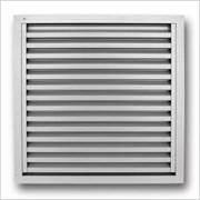aluminium louvre grille 491 renson fabrications ltd. Black Bedroom Furniture Sets. Home Design Ideas