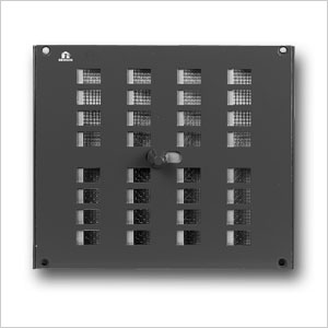 Aluminium Controllable Internal Louvre Grille 4032