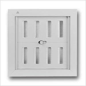 aluminium controllable internal louvre grille 441 renson. Black Bedroom Furniture Sets. Home Design Ideas