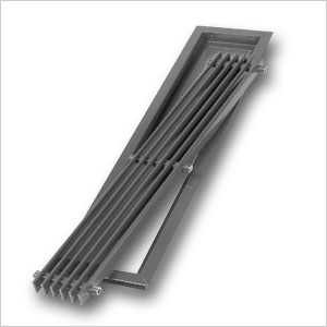 aluminium linear bar grille 392 renson fabrications ltd. Black Bedroom Furniture Sets. Home Design Ideas
