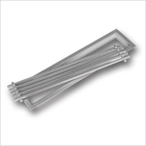 Aluminium Linear Bar Grille 394