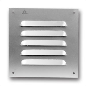 aluminium louvre grille 435 renson fabrications ltd. Black Bedroom Furniture Sets. Home Design Ideas