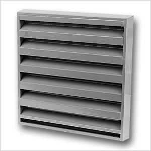 aluminium louvre grille 431 renson fabrications ltd. Black Bedroom Furniture Sets. Home Design Ideas