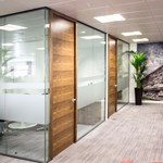 p54 Glazed Frameless Partition System