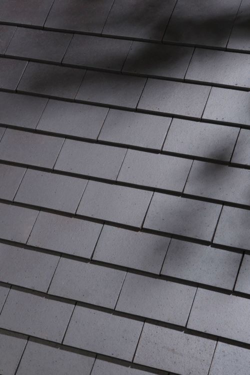 Clay plain roof tiles