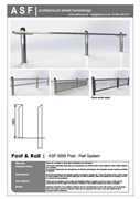 ASF 5006 Stainless Steel Post and Rail