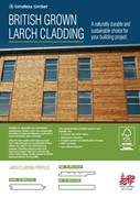 British Grown Larch Cladding