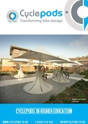 Cyclepods in Higher Education Industry Brochure