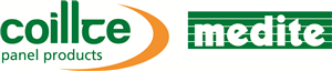 Medite, a division of Coillte Panel Products logo.