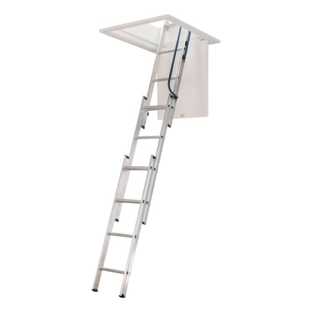 AL3C Loft Ladder with easy stow system and hand rail
