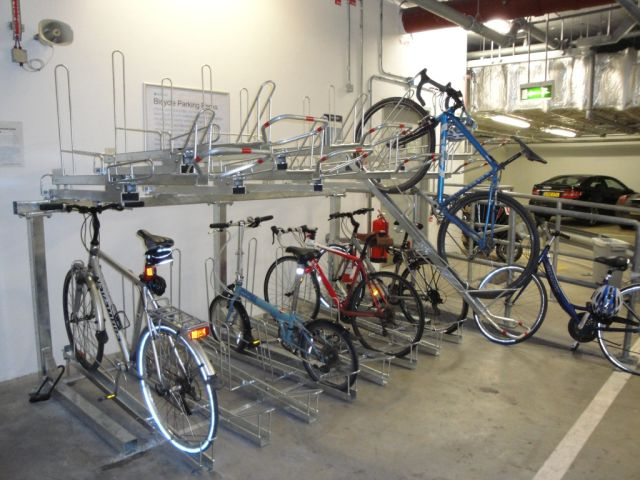 Two Tier Bicycle Rack