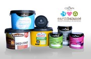 Crown Paints celebrates decade of success with earthbalance