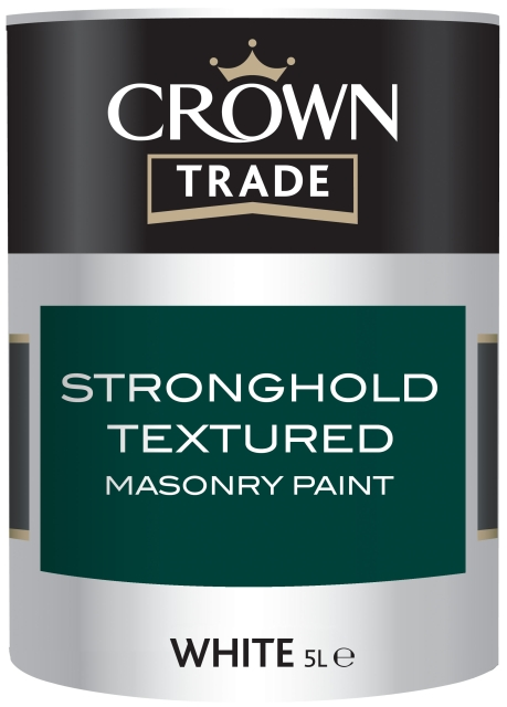 Stronghold textured masonry paint crown trade product of crown paints ltd - Crown exterior paint colour chart style ...