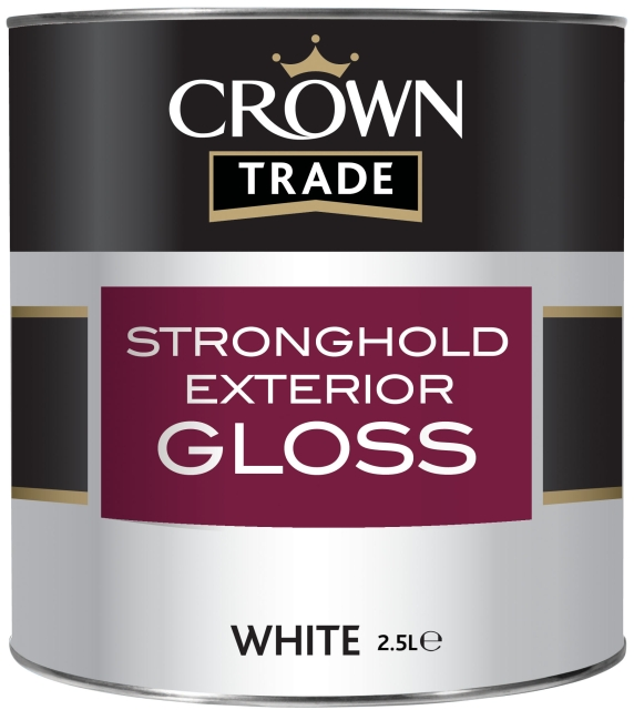 stronghold exterior gloss crown trade product of crown paints ltd