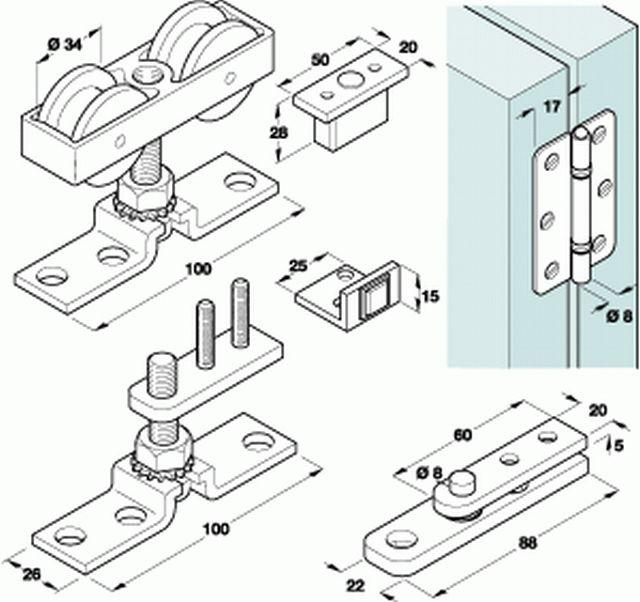 Top Hung Folding Sliding Door Gear Sliding Door Designs