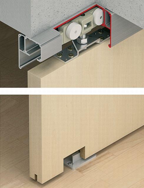 slido classic 160 p sliding door system h fele uk ltd. Black Bedroom Furniture Sets. Home Design Ideas