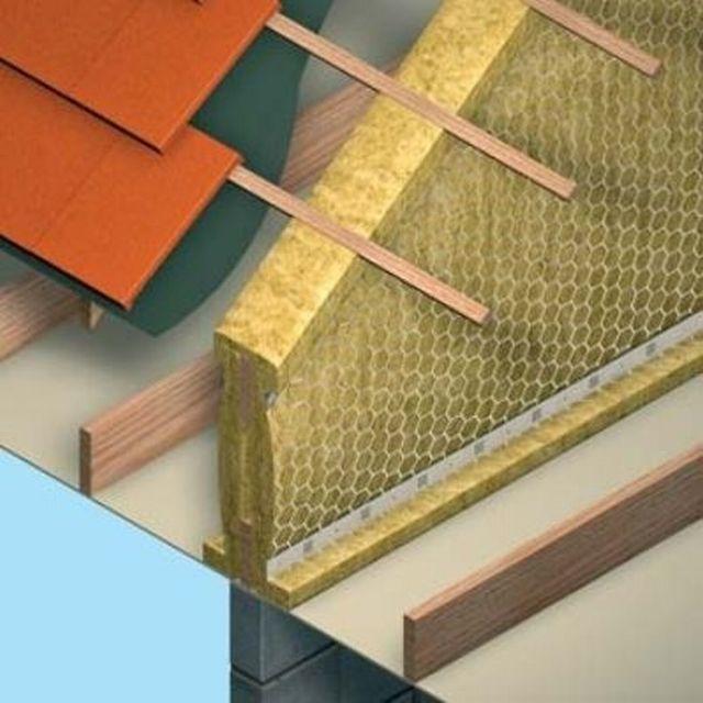 Rockwool ceiling cavity barrier for Mineral wool firestop