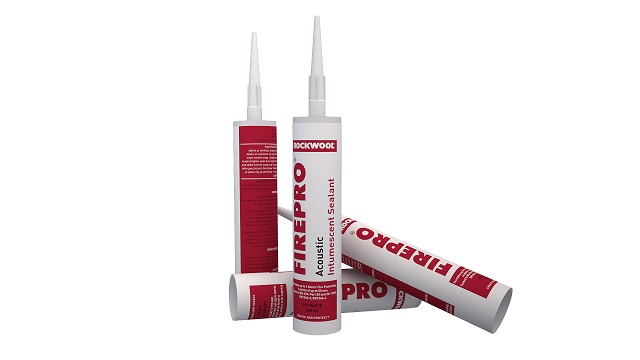 Rockwool firepro acoustic intumescent sealant rockwool ltd for Rockwool fire rating