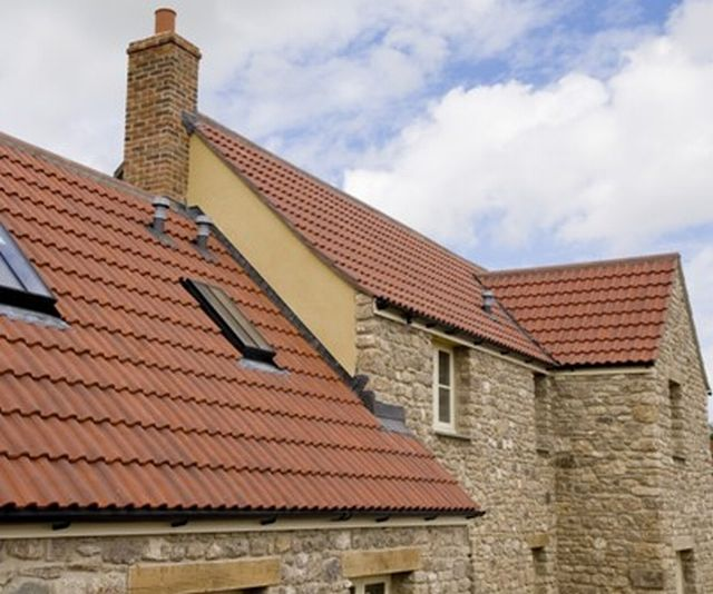 Romulus Clay Double Roman Tile Sandtoft Roof Tiles
