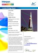Lighting Up The Shard: Interpon D2525 Superdurable Polyester Powder Coating