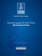 SW Guide for cleaning resin floors