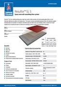 Resin flooring Resuflor SL S system