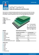 Resin flooring SofTop Comfort S system