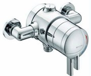 Thermostatic Dual Control Exposed Shower Valve STR TS1875 EDC C