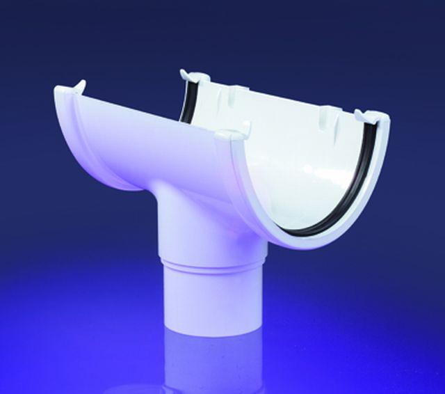 Hi Cap Semi Elliptical Pvc U Gutters Floplast Ltd
