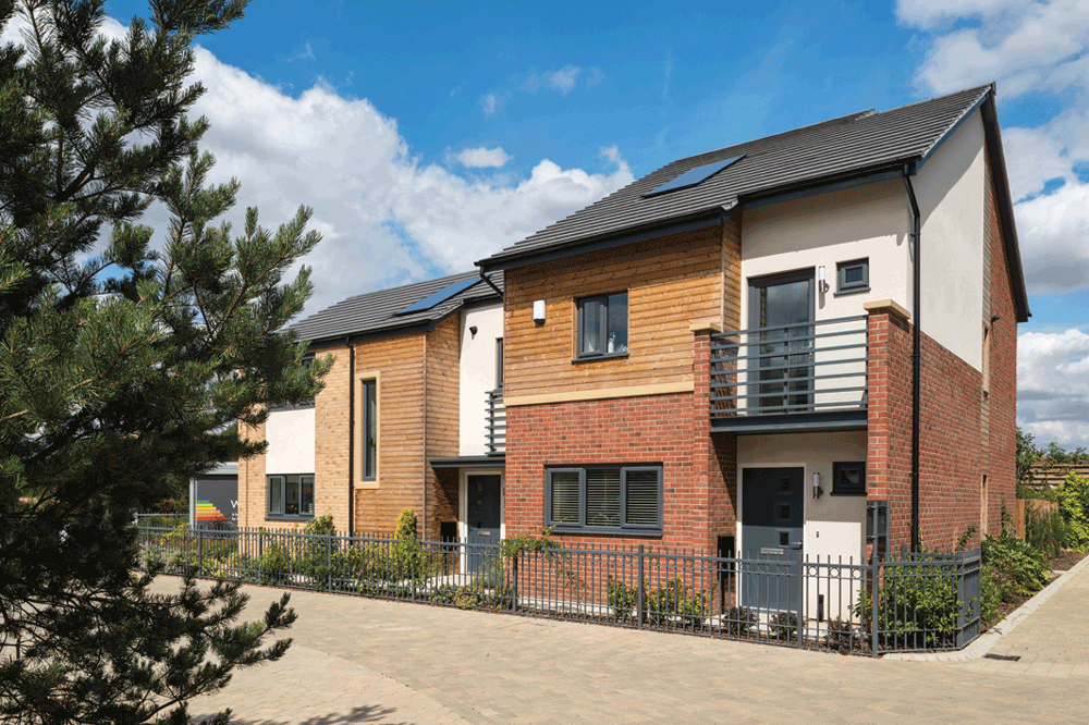 Morris Homes And Eurocell Create UK's Largest Zero Carbon Village