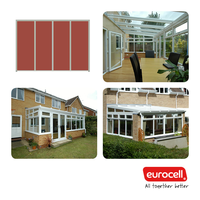 PVC-U Lean-To Conservatory