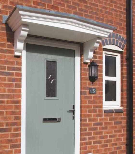 Pvc U Door Canopies Eurocell Plc